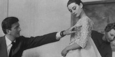 Givenchy and his muse; Audrey Hepburn.