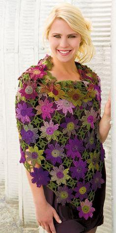 Kadınca Hobby World: Strickmuster Form Crochet, Crochet Motif, Knit Crochet, Crochet Patterns, Crochet Hats, Crochet Shawls And Wraps, Crochet Scarves, Crochet Clothes, Crochet Jacket