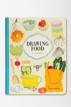 Drawing Food Journal #urbanoutfitters