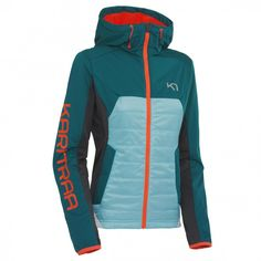 Kari Traa is the fastest growing sports brand for women in Europe, designing trendy, top quality active wear that let´s you live life in full colour. Check out the newest collection here. Ski Gear, Mesh Material, Motorcycle Jacket, Hooded Jacket, Sportswear, Jackets For Women, Running, Denim, How To Wear
