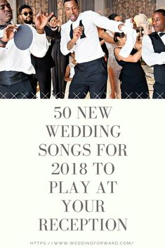 "Wedding Songs 100 of the Best To Play At Reception and Ceremony New wedding songs might not be the first thing that comes to mind when preparing your list of songs to play at your reception. Most people tend to think about ""oldies but goodies"" when i Wedding Song Playlist, Top Wedding Songs, Wedding Music List, Wedding Songs Reception, Dance Playlist, Wedding Dj, Trendy Wedding, Wedding Tips, Modern Wedding Songs"