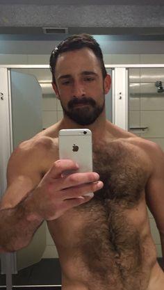 Hairy selfie