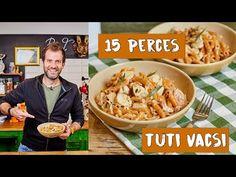 15 perces baconös csirke zöldségpennével - YouTube Bacon, Paleo, Make It Yourself, Youtube, Beverages, Food, Street, Essen, Beach Wrap