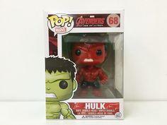 Custom Funko Pop Red Hulk 2.0 Pop Vinyl Hand Painted #Funko