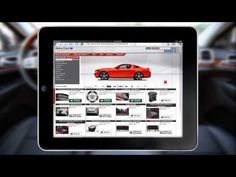 Car Accessory Sales Using an iPad