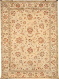 Beige Agra Carpet/Rug No. 4942  http://www.alrug.com/4942