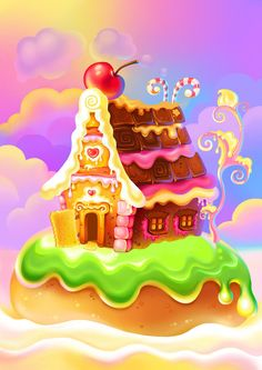 Gingerbread house by romasheva