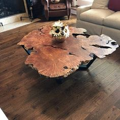 Your place to buy and sell all things handmade Wood Resin Table, Slab Table, Walnut Dining Table, Walnut Coffee Table, Coffee Tables, Wood Table, All Wood Furniture, Etsy Furniture, Walnut Burl