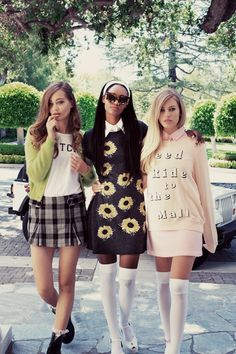 blackfashion:  Wildfox SS 13: The Kid's In America, A Tribute to Amy Heckerling.