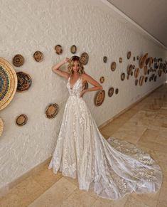 Wedding Gowns — The Bustle Bridal Boutique Cute Wedding Dress, Rustic Wedding Dresses, Wedding Dress Trends, Best Wedding Dresses, Boho Wedding, Bridal Dresses, Wedding Gowns, Crazy Wedding, Wedding Unique