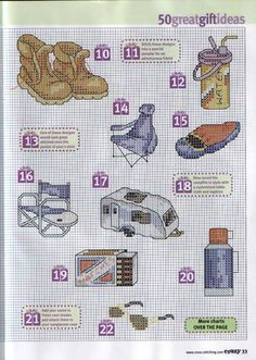 03 - 50 Camping gift ideas