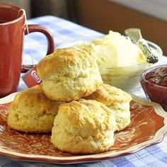 The Best Buttermilk Biscuits & Honey Butter