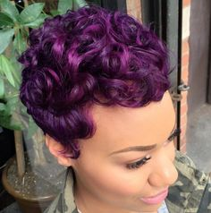Another purple win!  styled by @salonchristol - http://community.blackhairinformation.com/hairstyle-gallery/short-haircuts/another-purple-win-styled-salonchristol/
