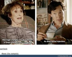 BUT GUYS. TO SHERLOCK JOHN'S MARRIAGE PRACTICALLY KILLED HIM DID U NOT SEE MARY IN HER WEDDING DRESS IN SHERLOCK'S MIND SHOOTING HIM