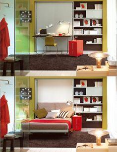 #Alsartopiace #ArredodiGiornata lo spazio non basta? la risposta e...#Clei mobili che non occupano spazio lo creano www.clei.it
