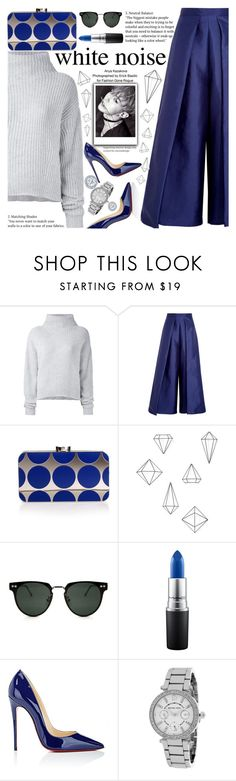 """""""Untitled #2159"""" by anarita11 ❤ liked on Polyvore featuring Le Kasha, Solace, Manolo Blahnik, Umbra, Spitfire, MAC Cosmetics, Christian Louboutin and Michael Kors"""