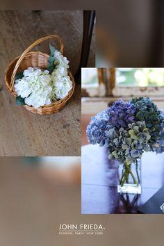 Full bouquets of beautiful hydrangeas   #WeddingStyle #WeddingDecoration #WeddingFlowers #OutdoorWedding #weddinginspiration