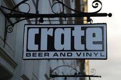 Crate - Beer and Vinyl #copenhagen #denmark