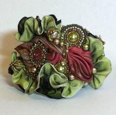 BeadButton Show: BeadButton Show Workshops  Classes: Saturday June 7, 2014: B143140 TOHO Beads Presents: Faery's Cuff Bracelet