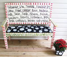 Emilys Original Art: Funky Furniture
