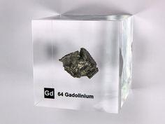 EUR 72.90 Quantity: 1  buy now | request The Sensation! Acrylic Element-blocks NEW! GadoliniumGd -piece ~ 10- 11 grams - 99.95% purity