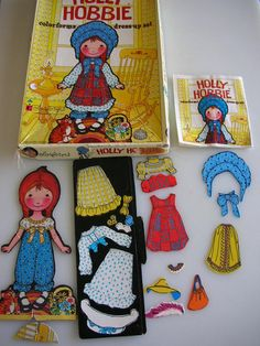 This is a 2 in 1 Set made up of 1975 Holly Hobbie and Barbie. The Holly Hobbie My Childhood Memories, Childhood Toys, Great Memories, Barbie Sets, Barbie Dolls, Retro Toys, Vintage Toys 1970s, 1980s Toys, Vintage Items