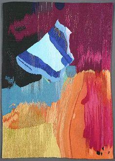Maj-Britt Mobrand -- Metalia,    Tapestry (2006), 2' x 3'