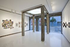 Great Interior of Art Gallery Interior Design from Historic Building by StudioWTA Architecture