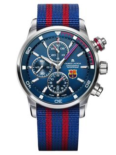 Maurice Lacroix - Pontos S Chronograph for FC Barcelona