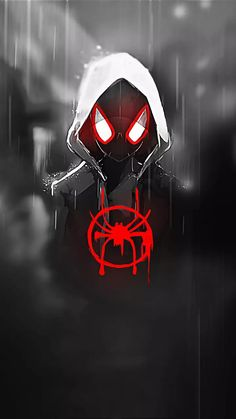 spiderman Wallpaper by susbulut - - Free on ZEDGE™ Black Spiderman, Amazing Spiderman, Spiderman Kunst, Spiderman Spider, Spiderman Anime, Deadpool Wallpaper, Man Wallpaper, Avengers Wallpaper, Miles Morales Spiderman