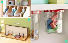 organizing home | Roundup: 15 DIY Office Storage and Organization Ideas » Curbly | DIY ...