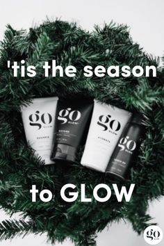 'tis the season to GLOW! goGLOW's sunless EXTEND and TOUCH UP gives you an eco-friendly, fresh and healthy looking GLOW at home or to keep your spray tan lasting for as long as it can! PARABEN + SULPHATE FREE // VEGAN // GLUTEN FREE. Click to check out the rest of the goGlow Skin Care product line.