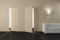 Invisible door flush to wall: Eterea