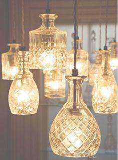 carafes, décoration, luminaires, suspensions