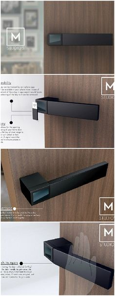 The E-Lock is a different approach to the traditional door handles we have in…