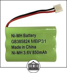 Motorola MBP31Vigilabebés Batería recargable NiMH de 3,6V, 850mAh  ✿ Seguridad para tu bebé - (Protege a tus hijos) ✿ ▬► Ver oferta: http://comprar.io/goto/B017BUIS0U