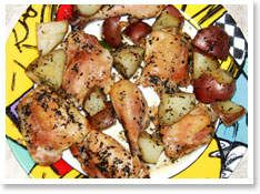 Chicken Recipes: Chicken with New Potatoes - Kaboose.com