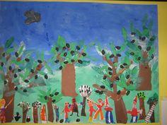 35ο Νηπιαγωγείο Περιστερίου.blog - ΚΑΤΑΣΚΕΥΕΣ Preschool Education, Projects To Try, Fall Winter, Crafts, Painting, Blog, Art, Art Background, Manualidades