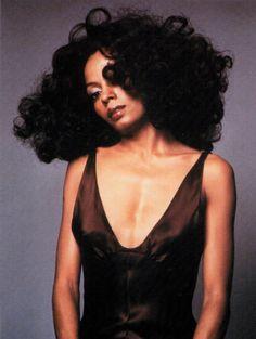Diana Ross original afro queen