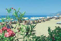 Kleopatra Beach in Alanya, Turkije -