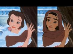 18 Disney Princesses Reimagined As A Different Race - clipd.com