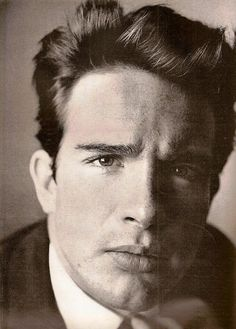 Actor Warren Beatty photographed by Richard Avedon. Vogue,January 1962.