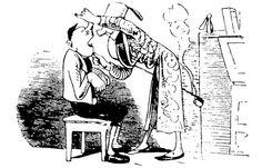 illustrations de wilhelm busch | Der hohle Zahn | Gedicht & Zeichnungen von Wilhelm Busch | Praxis für ... Wilhelm Busch, Les Oeuvres, Memes, Drawings, Writers, Illustration, Portraits, Vintage, Inspiration