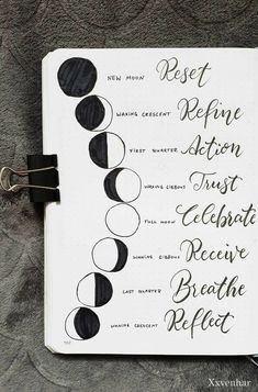 Moon lunar phases and the meanings . October bullet journal moon theme 2019 fall autumn halloween lunar phases moon child quote bujo spread quotes for work Bullet Journal Quotes, Bullet Journal Ideas Pages, Bullet Journal Layout, Bullet Journal Inspiration, Bullet Journal October Theme, Bullet Journal Decoration, Bullet Journal 2020, Kunstjournal Inspiration, New Moon Rituals