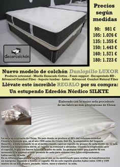 Oferta Decor Colchón modelo Luxor de Dunlopillo