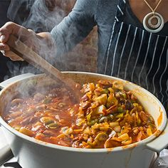 For the chefs at Bar Tartine, Christmas Eve smells like this spicy sauerkraut soup.