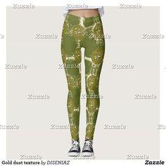 Shop Gold dust texture leggings created by DISENIAZ. Leggings Fashion, Women's Leggings, Dressmaking, Things That Bounce, Shop Now, Texture, Gold, Sew Dress, Surface Finish