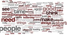 #WeNurses change day chat 1 discussion wordcloud 18/02/2014 Barriers & Routes