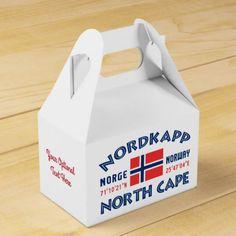 NORDKAPP Norway custom favor box