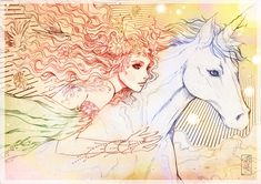 Spirit And The Last Unicorn | Unicorn and Queen Fairy by *Archie-The-RedCat on deviantART